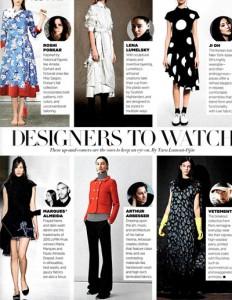 1.Harper's Bazaar USA, Sep 2015